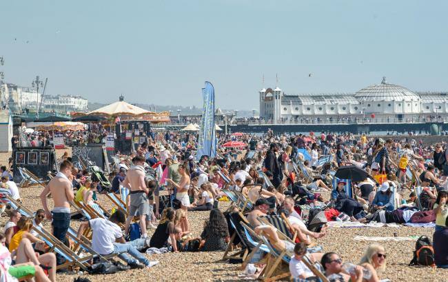 Residents call for smoking ban on Brighton beach