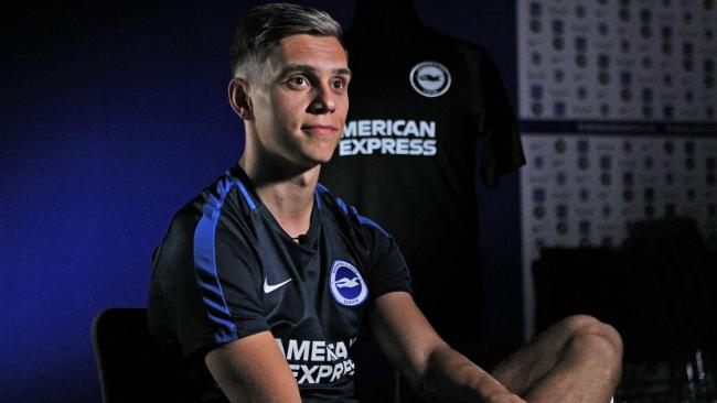 Leandro Trossard. Pictures Kieran Cleeves BHAFC
