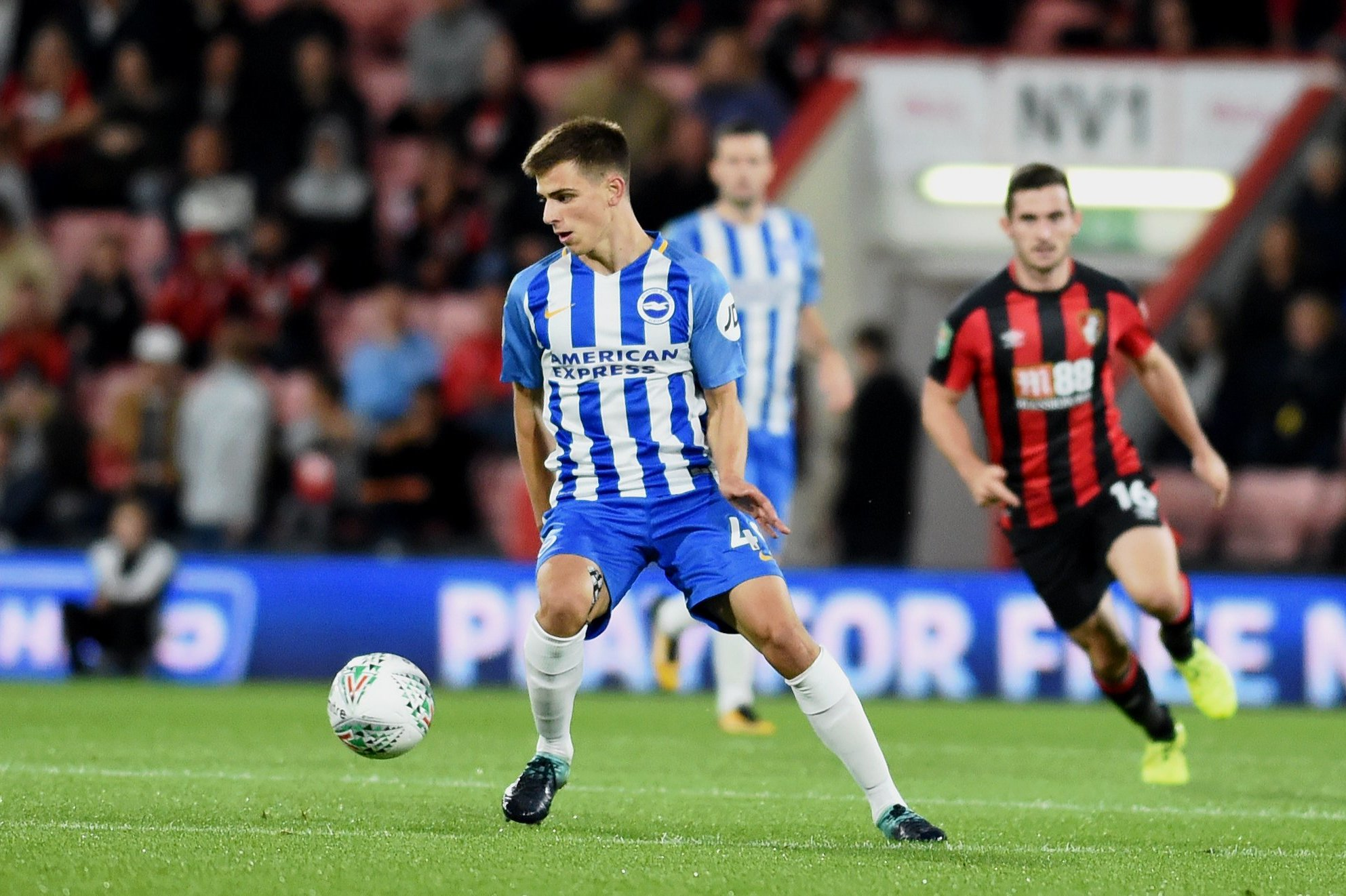 Albion midfielder Jayson Molumby has good vibes about Albion under Potter
