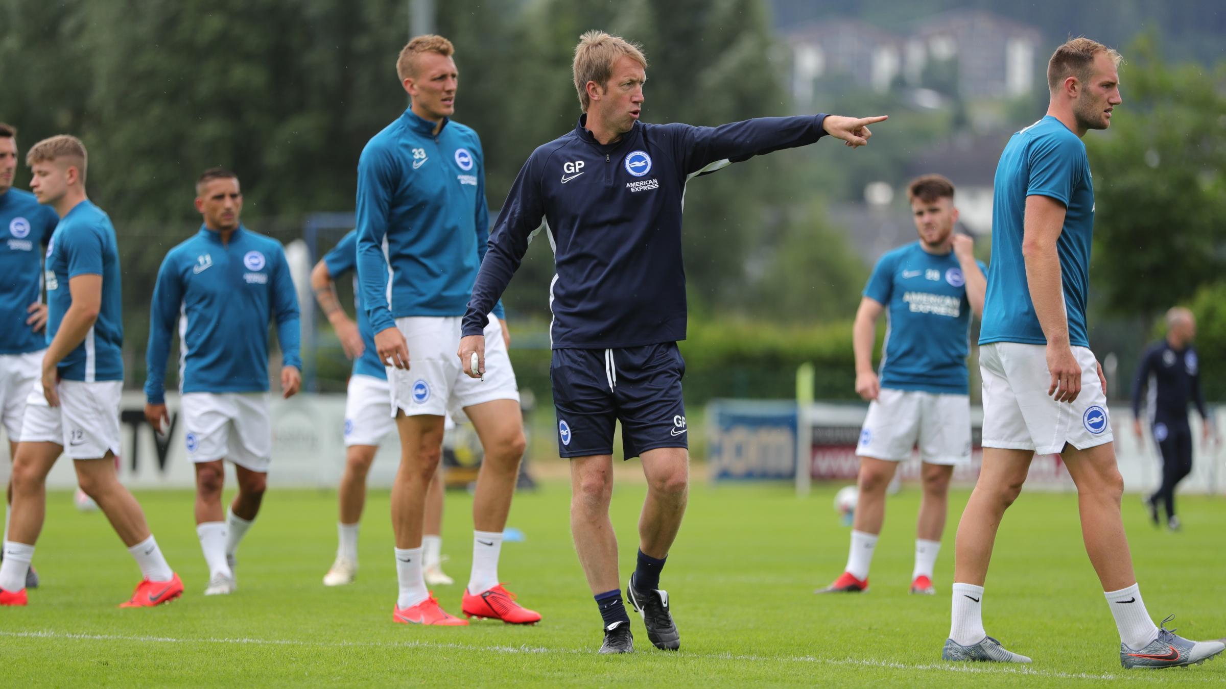 Albion head coach happy with the progress on pre-season trip