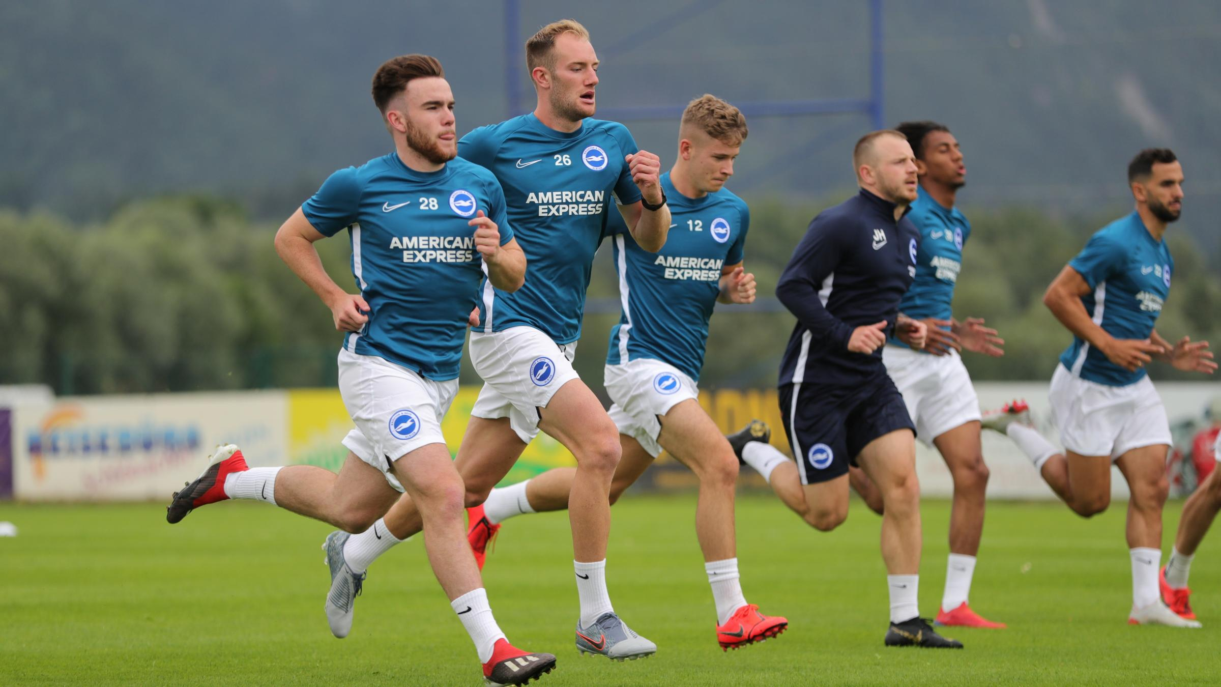 Aaron Connolly in the running to impress Albion boss