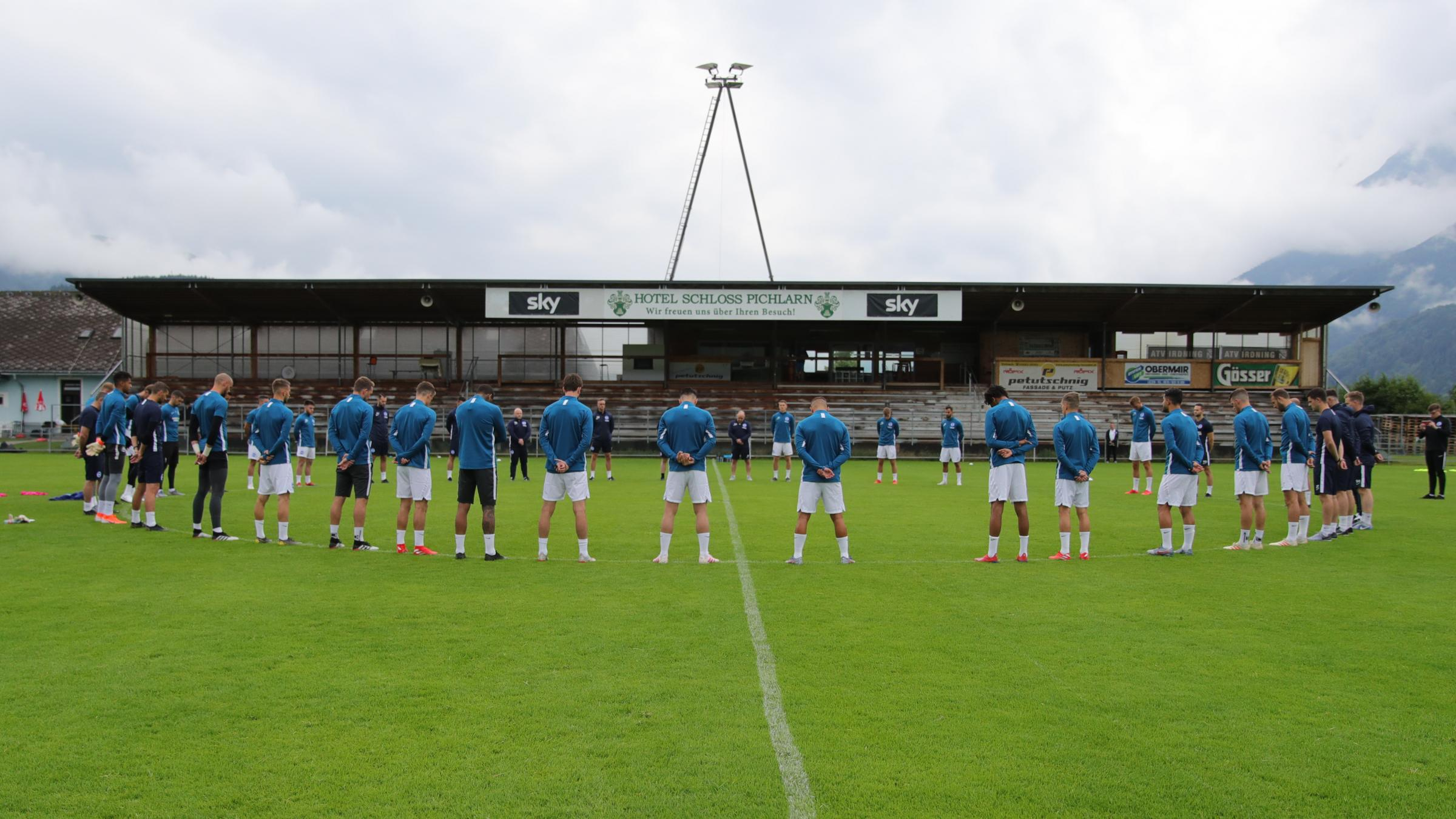 Albion observe minute's silence in Austria as Graham Potter attends mother's funeral
