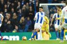 Albion defender Leon Balogun came on late for Nigeria to help see out the win
