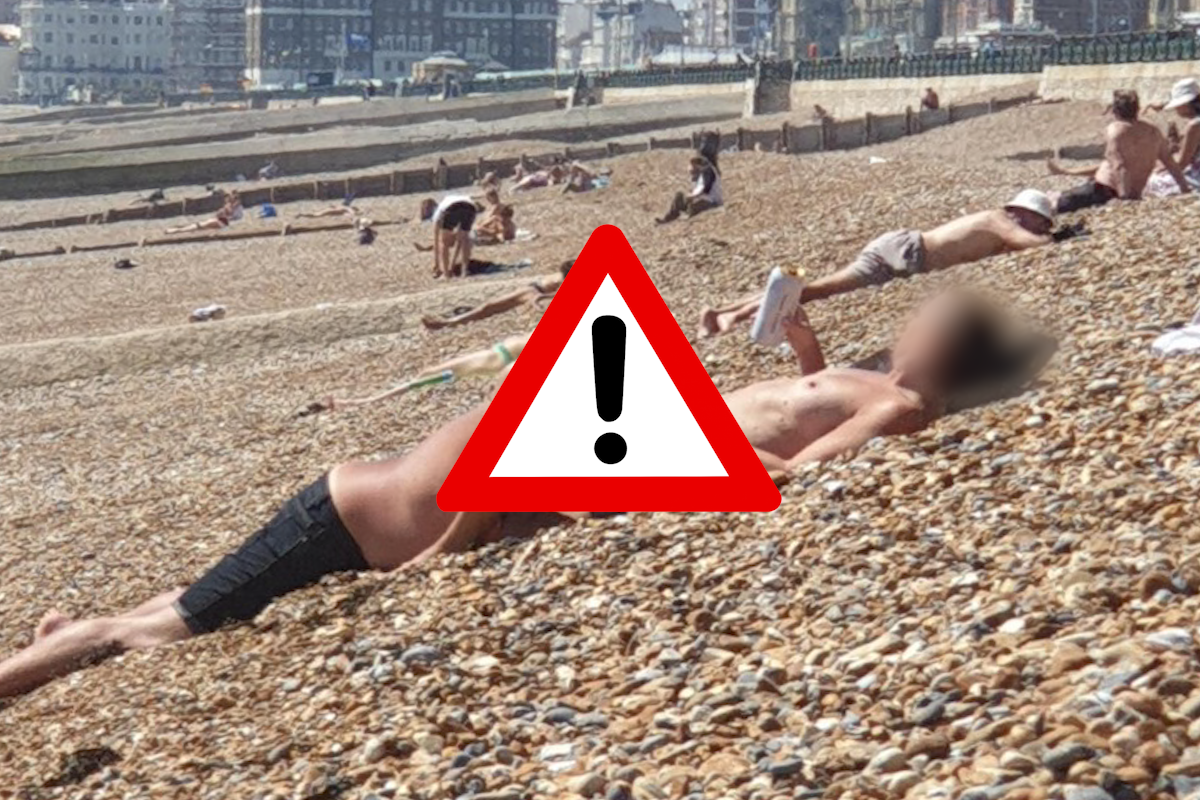 Shock at couple's public sex act on busy Hove beach | The Argus
