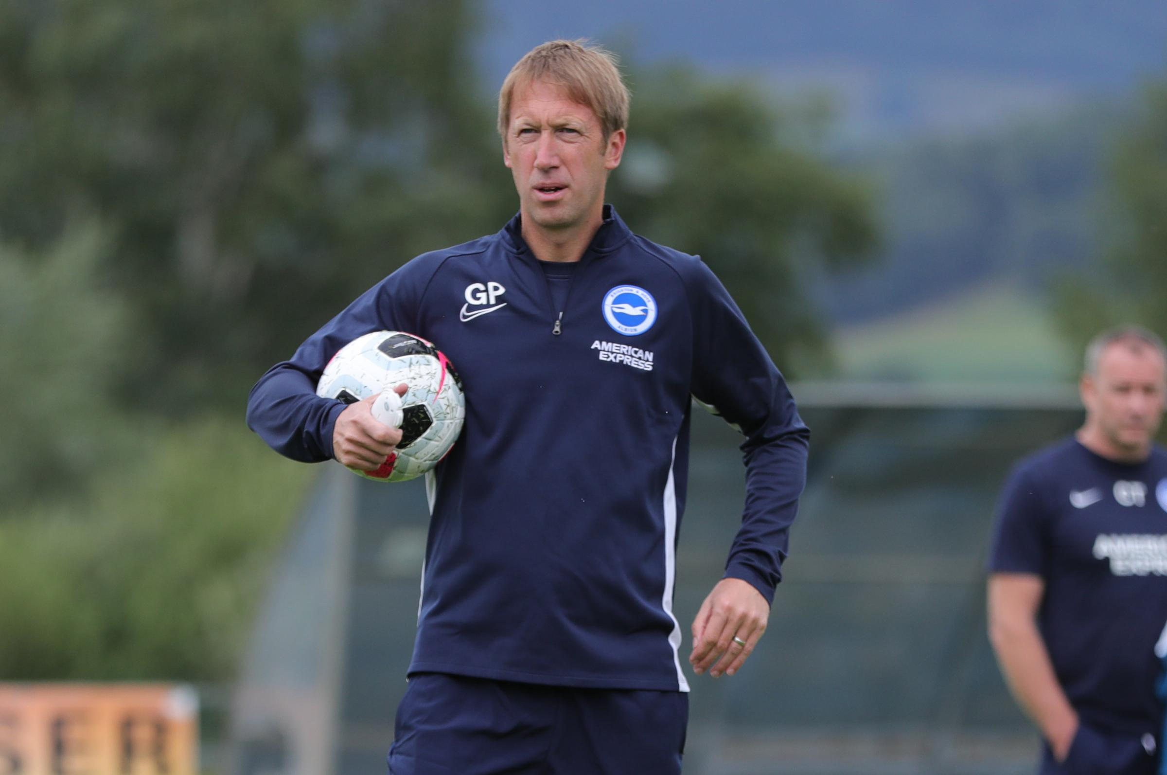 Graham Potter will ring changes in Albion's opening friendly