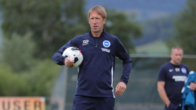 Graham Potter. Picture Paul Hazlewood BHAFC