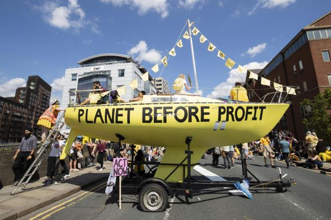 Global activists Extinction Rebellion open new Sussex branch