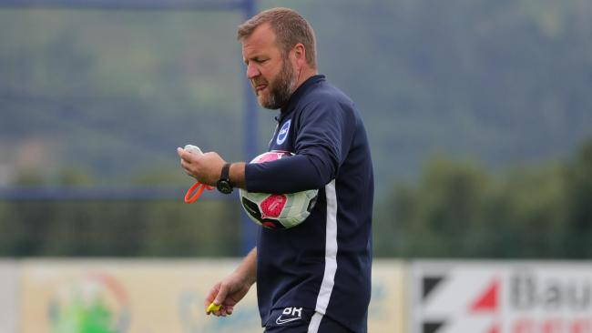Albion assistant head coach Billy Reid. Pictures Paul Hazlewood BHAFC
