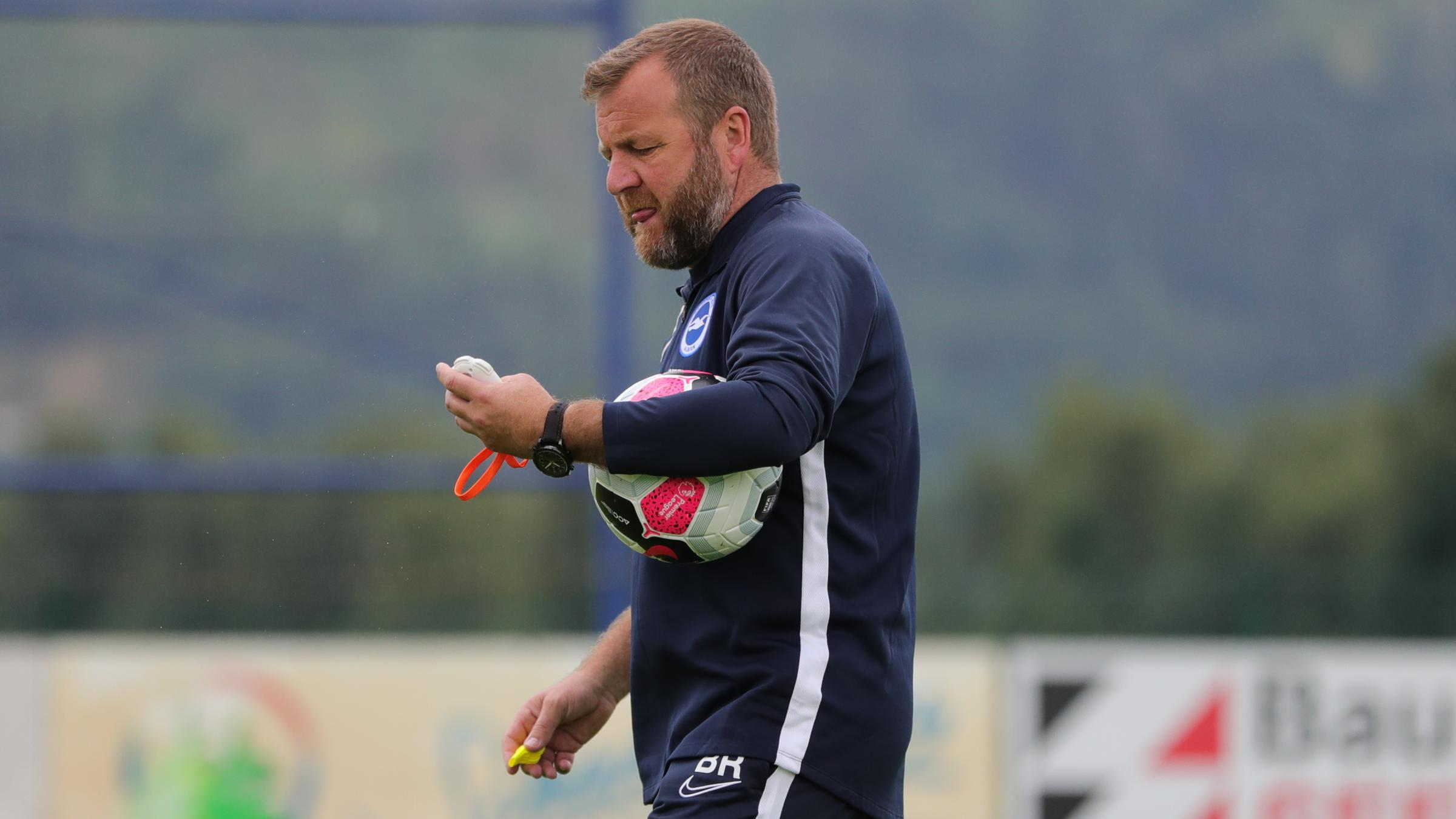 Albion assistant Billy Reid on his relationship with Graham Potter