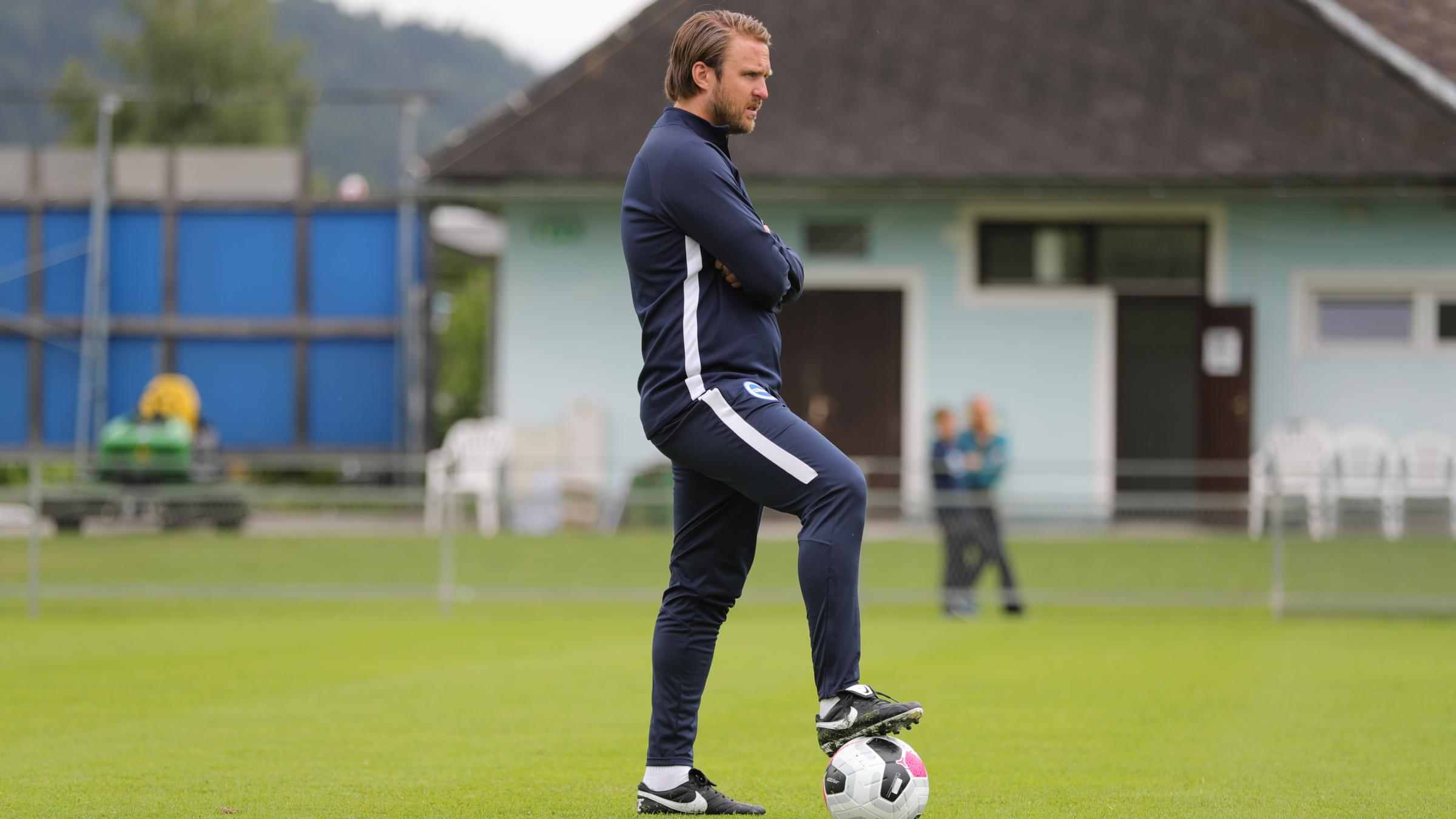 Age is no concern to young Albion coach Bjorn Hamberg