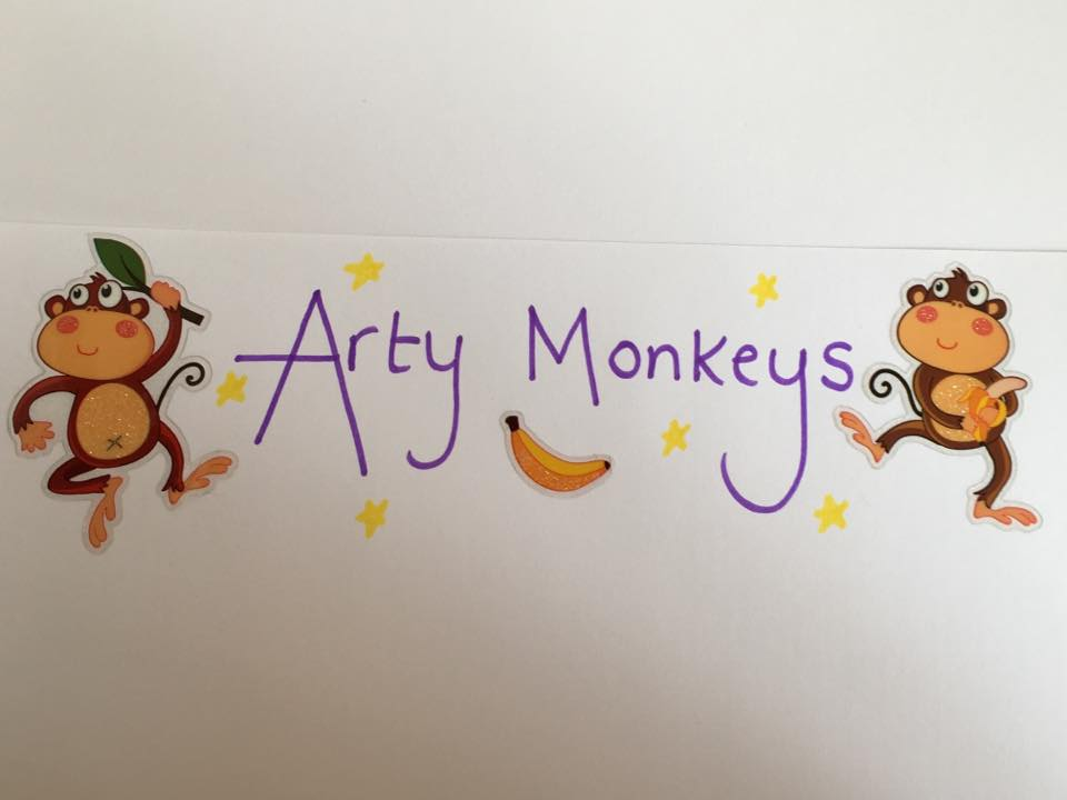 Arty Monkeys - 10 Little Dinosaurs