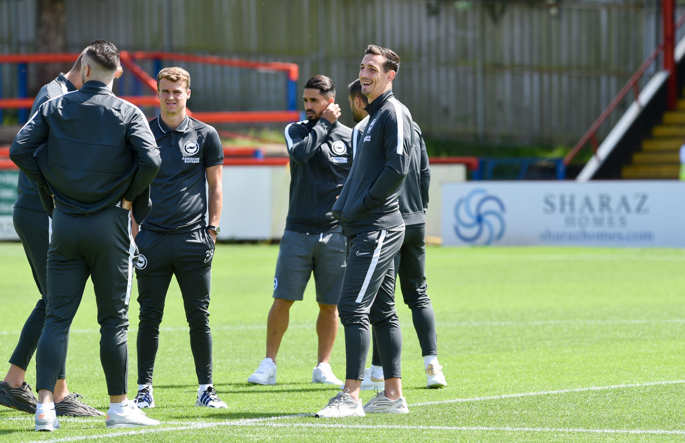 Fulham v Brighton and Hove Albion: Follow the pre-season action.