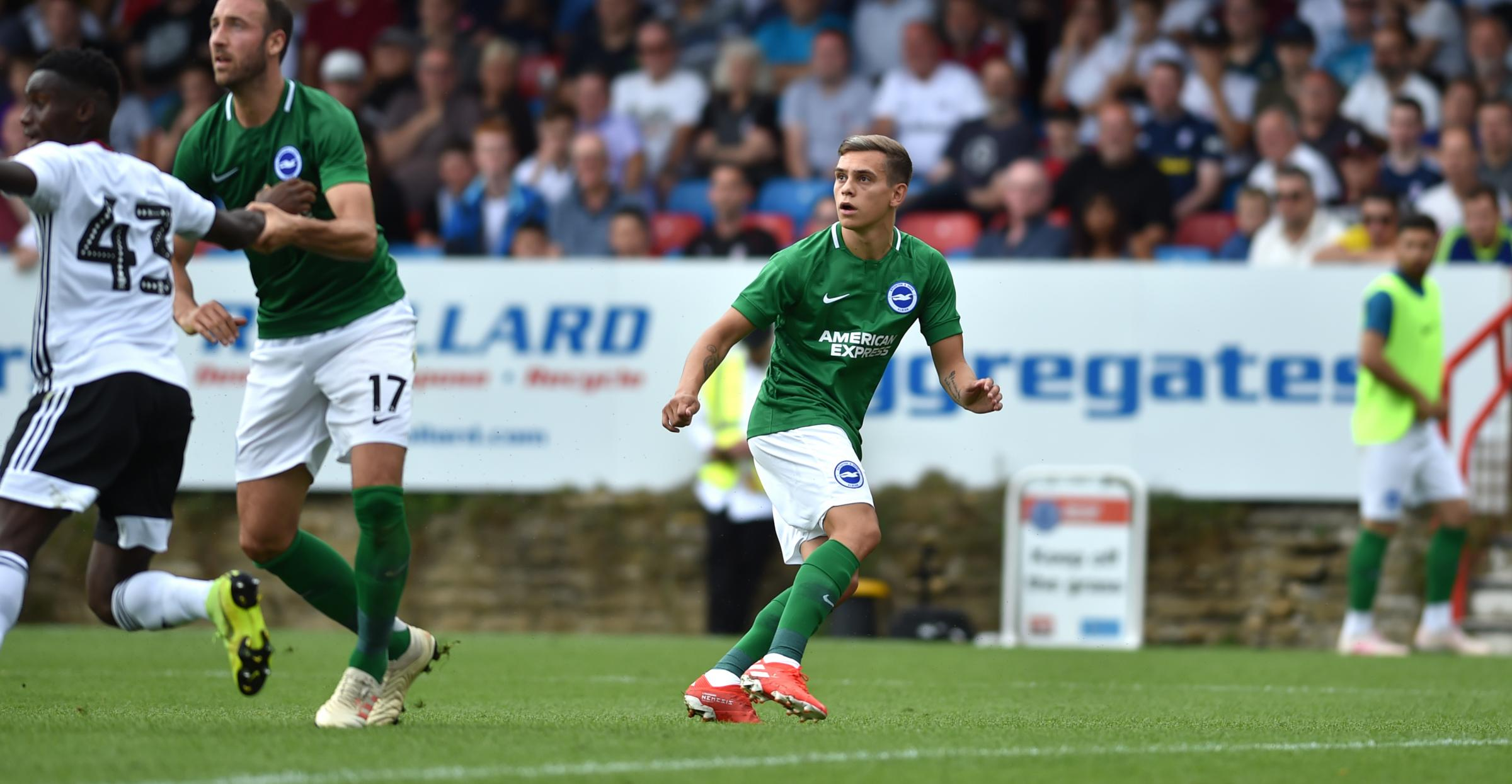 Fulham 2 Brighton and Hove Albion 1: As-it-happened report from pre-season match at Aldershot.