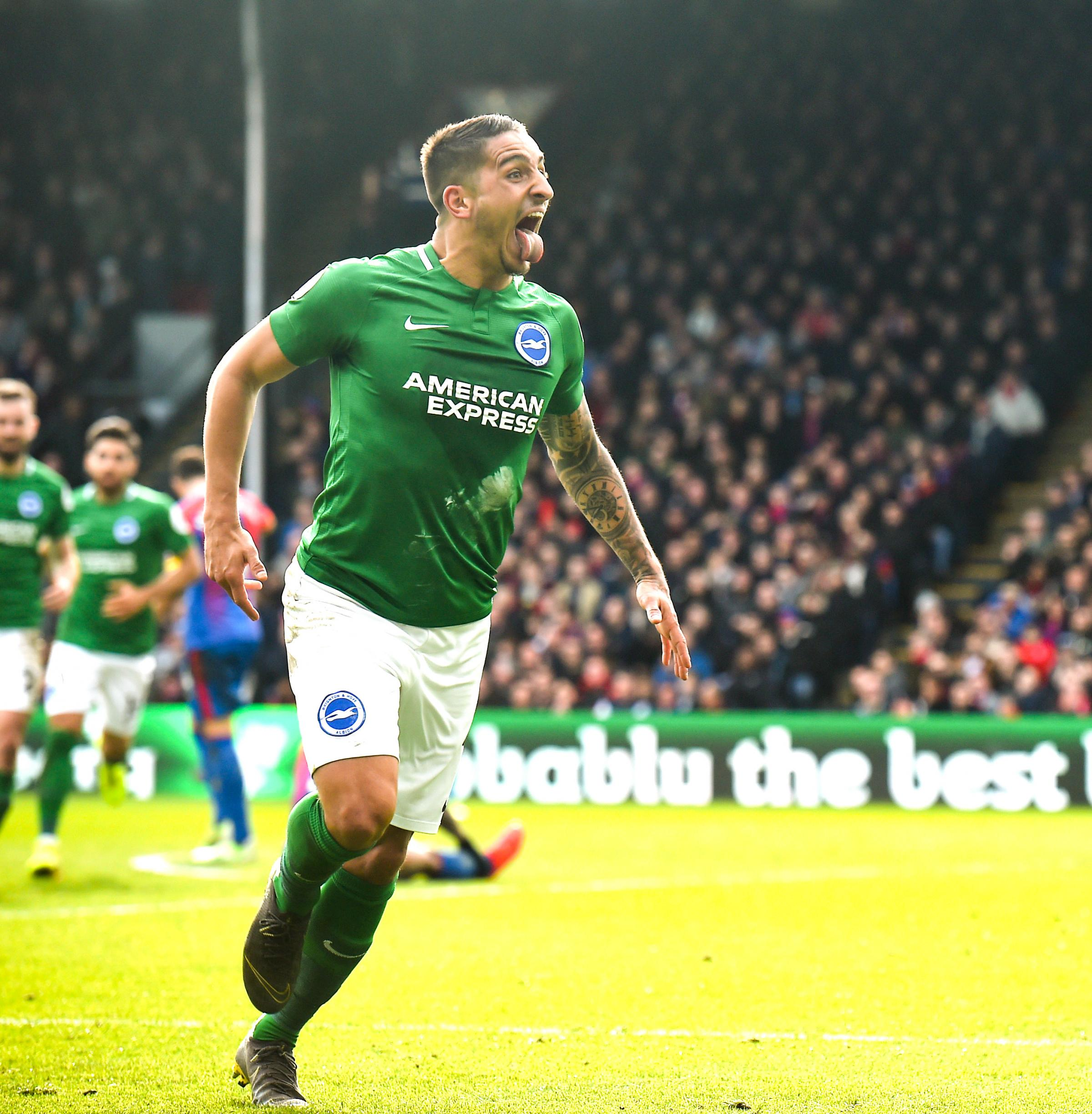 Albion winger Anthony Knockaert completes loan move to Fulham