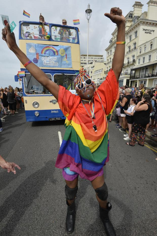 The Argus: Pride Parade 2019 Picture:Terry Applin