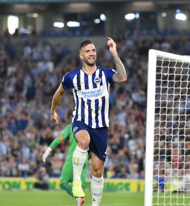 Shane Duffy wants Albion fans to approach the new season with a spring in their step. Picture: Simon Dack