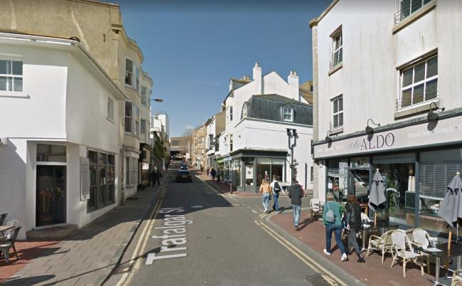The application for a change of use in Trafalgar Street was refused