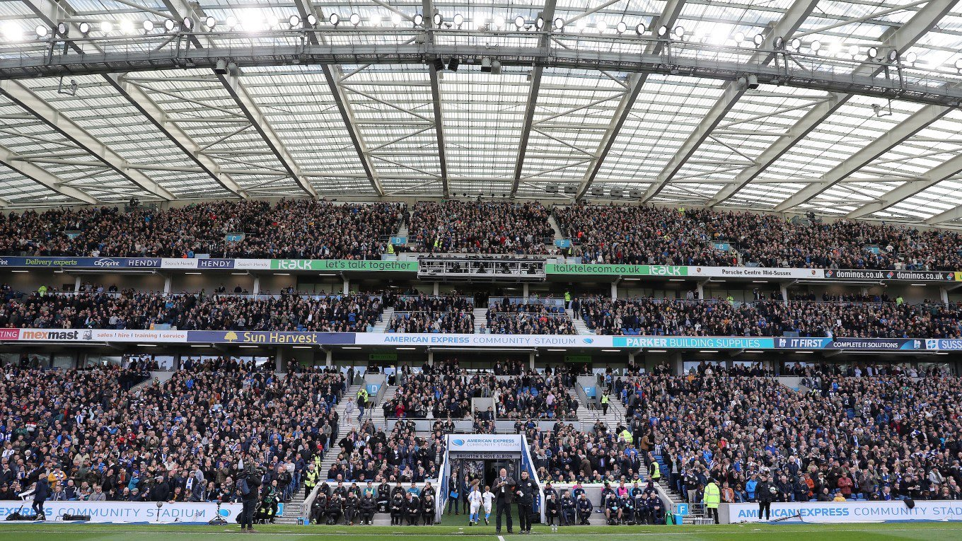 You can still get tickets to see Albion at the Amex today