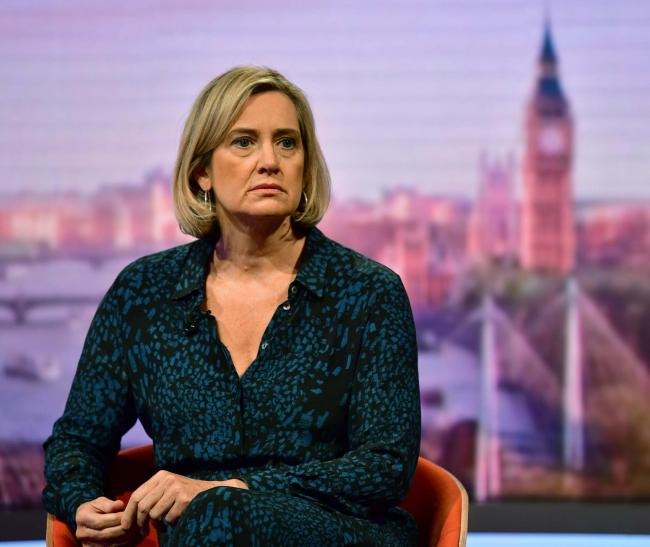 'UK employment is going strong' says Amber Rudd as she promises to deliver Brexit in October