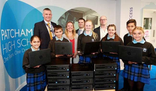 Domestic and General offers IT equipment to Patcham High Scool