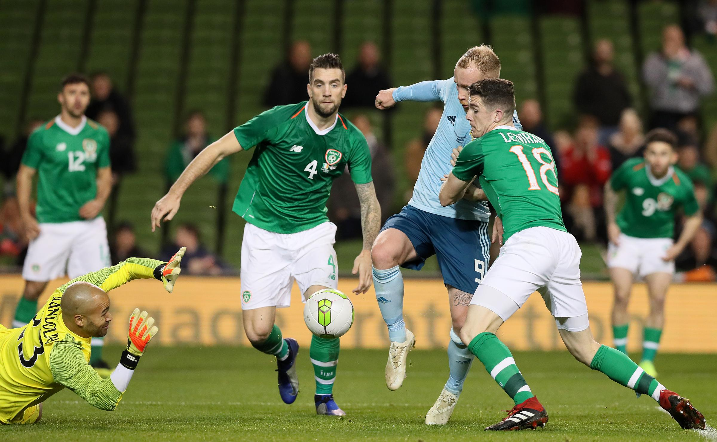 Shane Duffy to travel with Ireland squad