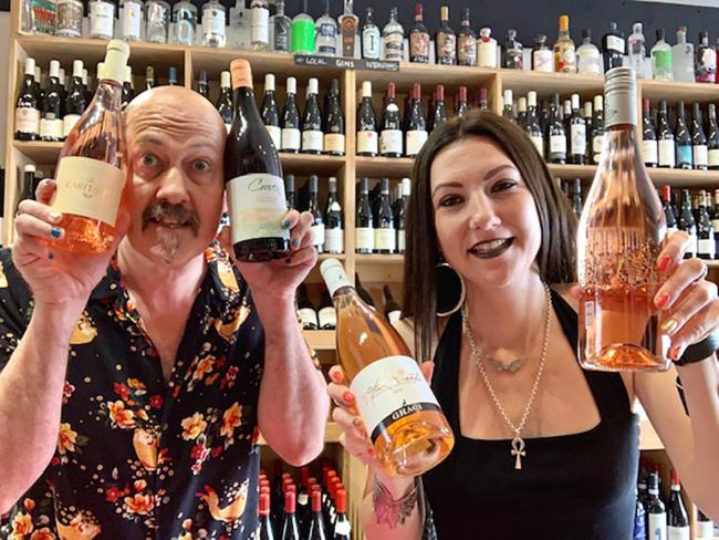Henry Butler and Cassie Gould of Butlers Wine Cellar