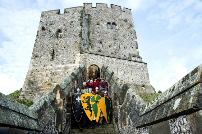12th Century Knights appear at Arundel Castle in September