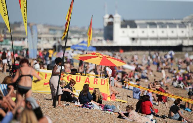Warning to parents as children go missing on crowded beaches