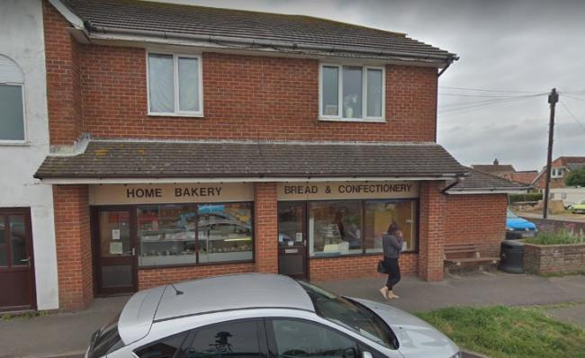 The Home Bakery in Oakfield Road, East Wittering. Picture from Google