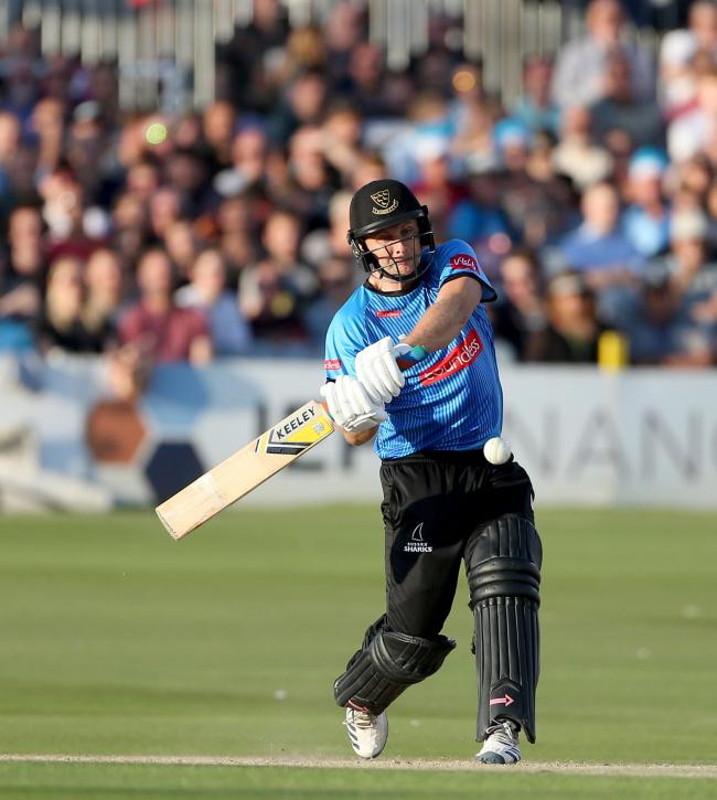 Luke Wright is looking forward to the quarter-finals. Picture by Stephen Lawrence (SNAP)/Sussex Cricket