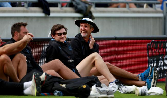 Jason Gillespie is enjoying life in charge of Sussex