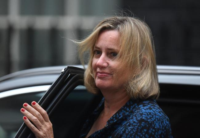 Figures have criticised the appointment of former Hastings MP Amber Rudd at a new radio station, citing her involvement in the Windrush scandal. Photo: David Mirzoeff