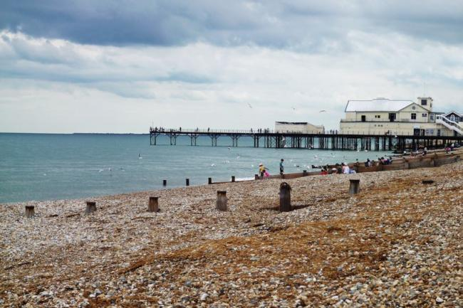 The incident is alleged to have taken place on Bognor beach