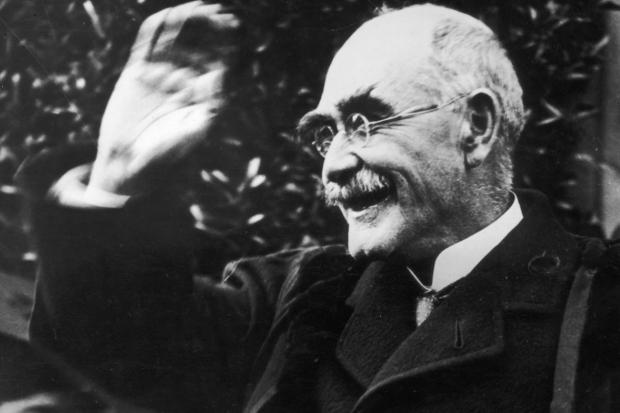 Author, Rudyard Kipling in later life.