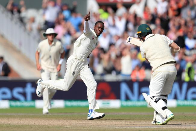 Jofra Archer is in the England Test squad