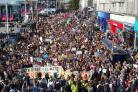 CLIMATE CHNGE MARCH BRIGHTON & HOVE 20-9-19