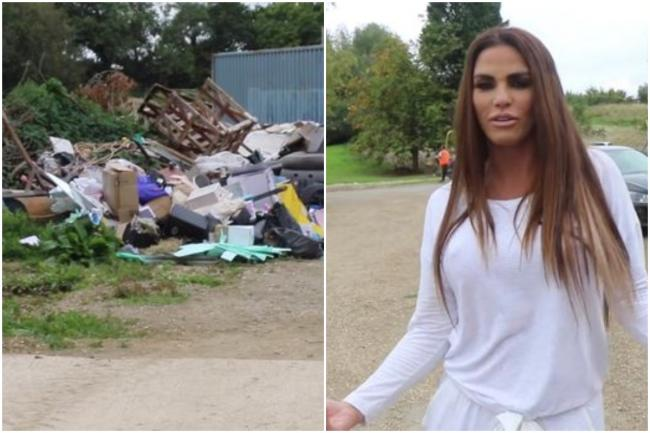 Katie Price at her Horsham mansion. All pictures: Image: Katie Price/Youtube