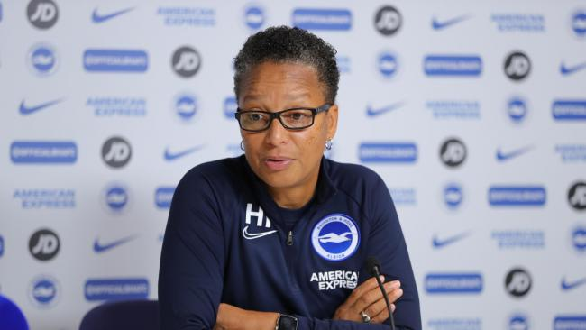 Hope Powell (picture by Paul Hazlewood/BHAFC)
