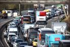 Emergency gas works causing traffic chaos and long delays on the A26 and A27