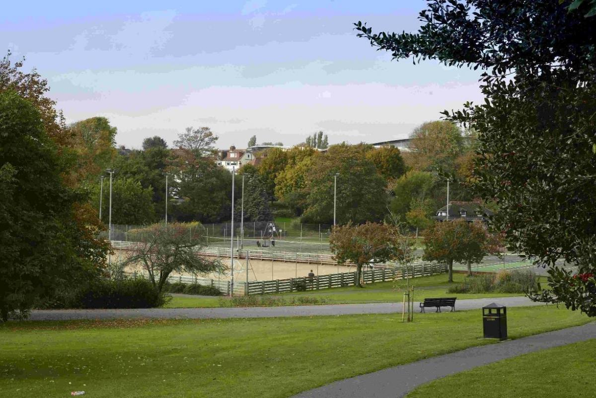 Hove Park is the perfect place for a Springtime kickabout