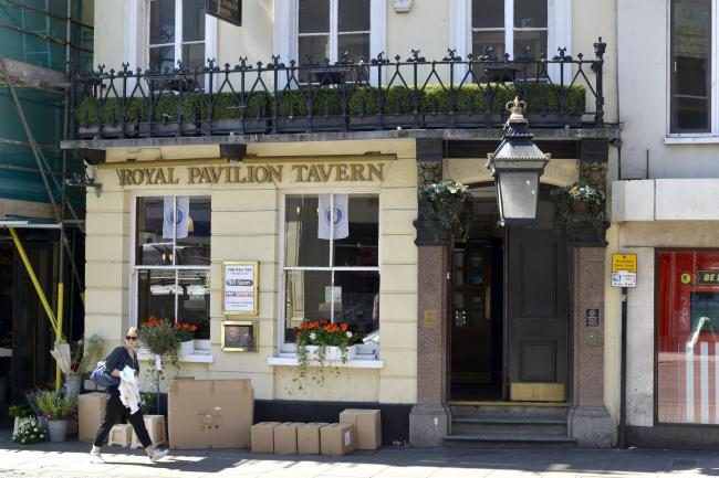 Royal Pavilion Tavern, Castle Square, Brighton..