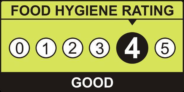 Food Venues With A Four Hygiene Rating In Brighton And