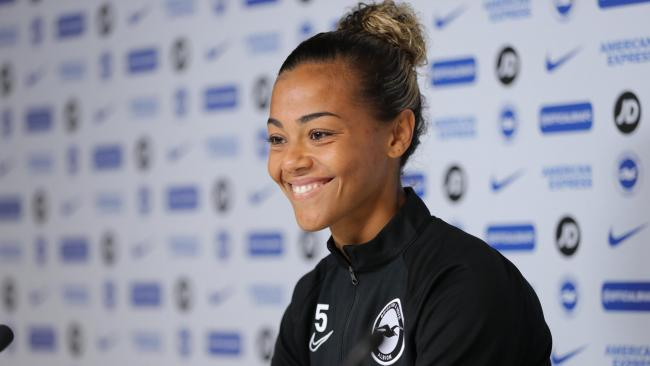 Albion defender Fern Whelan says it was not easy decision to retire. Picture: Paul Hazlewood/BHAFC