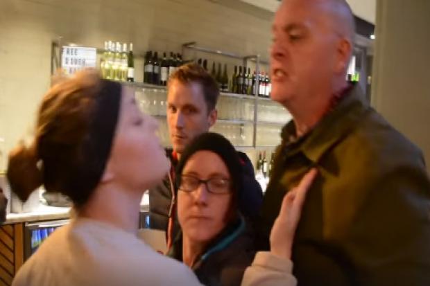 Violence Erupts As Vegan Activists Storm Brighton Pizza