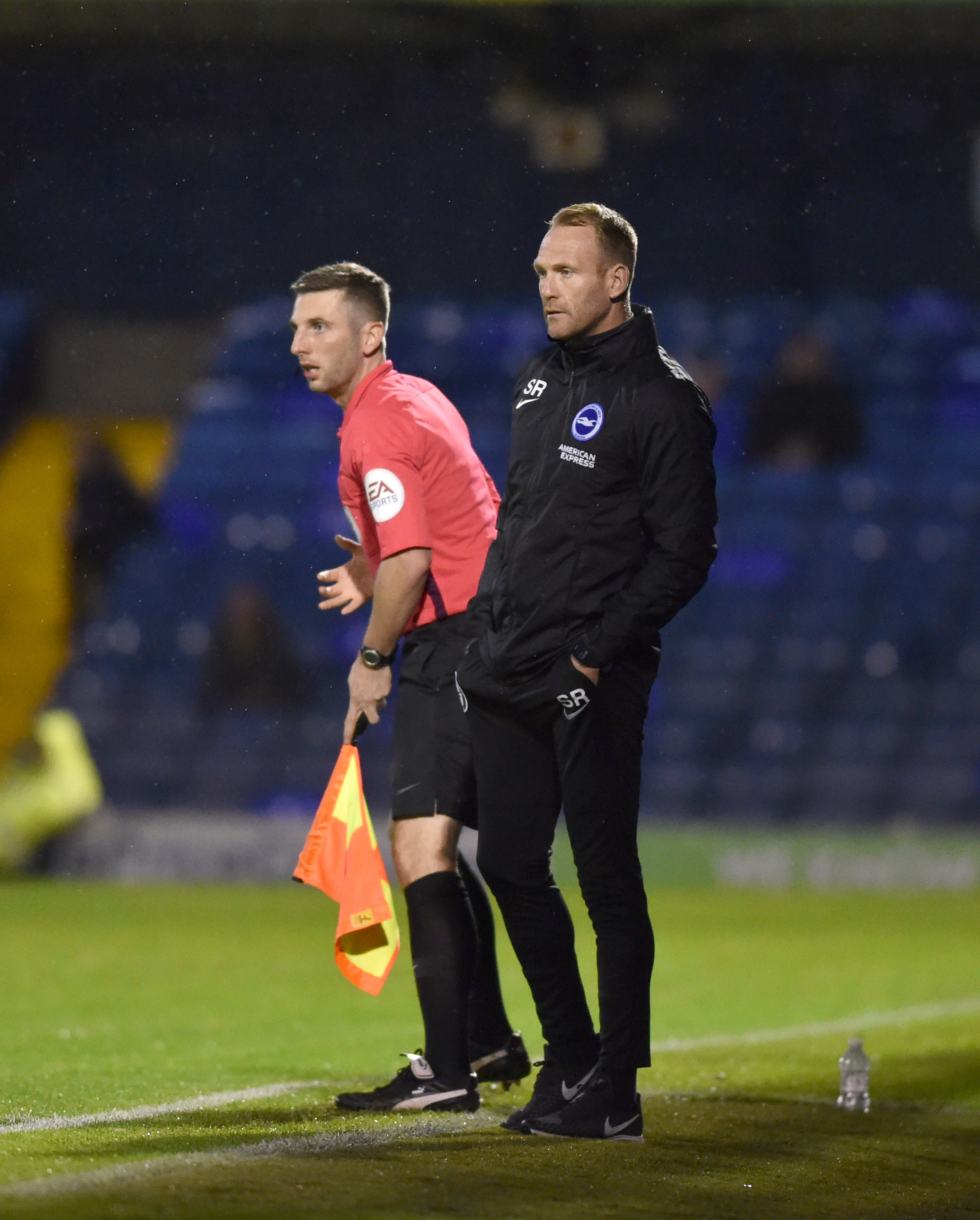 Simon Rusk delighted with Albion's performance in penalty defeat to Leyton Orient