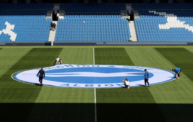 "Brighton and Hove Albion have been named one of the ""greenest"" sports clubs in the country"