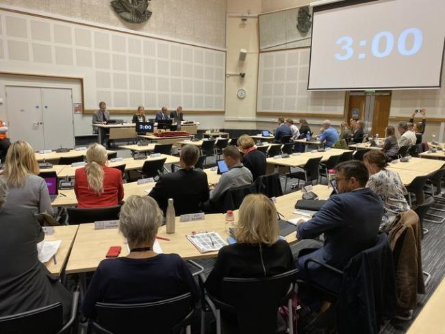 Conservatives did not turn up to an emergency Brexit meeting. Photo: Sarah Booker-Lewis