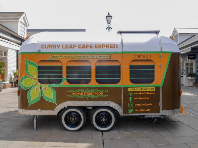 Curry Leaf Cafe's new food trailer