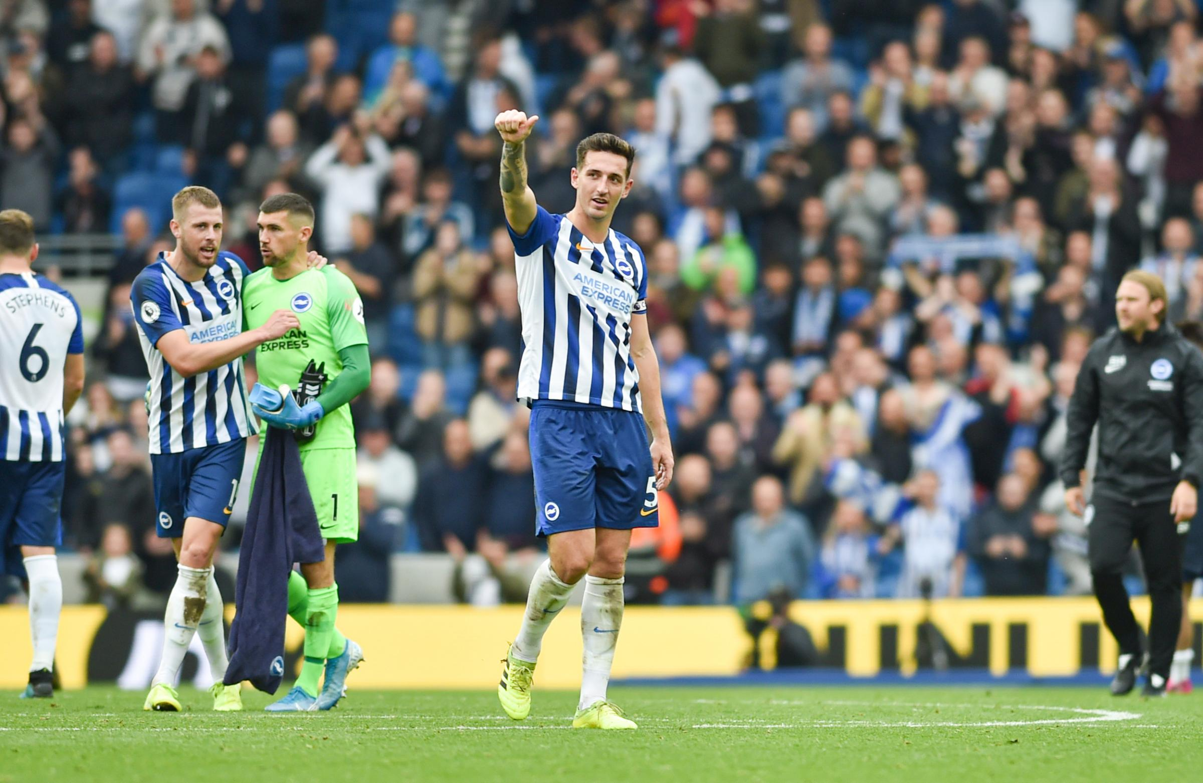 Maty Ryan says Lewis Dunk has moved to 'another level'