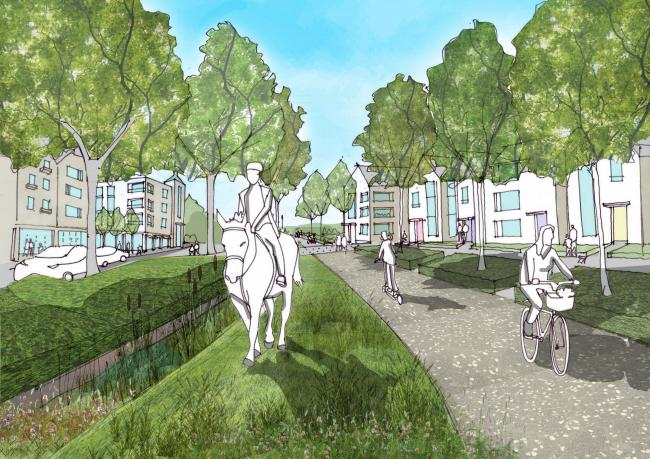 An artist's impression of the scheme